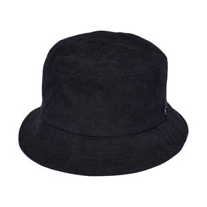 Stussy Graffiti Cord Bucket Hat - Black
