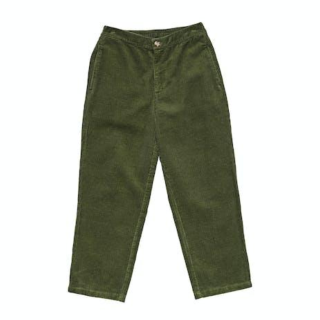 Stussy Huntington Cord Pant - Flight Green