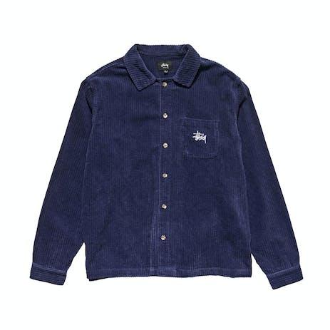 Stussy Murphy Cord Shirt - Navy