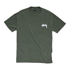 Stussy Shadow Stock T-Shirt - Pigment Flight Green