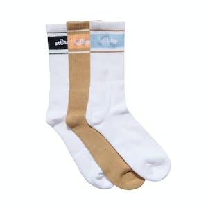 Stussy Sport Socks 3 Pack - Multi
