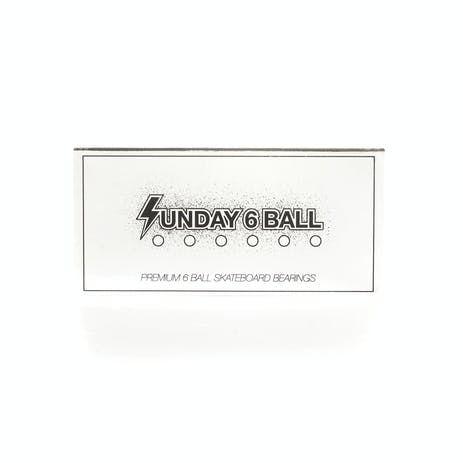 Sunday Six Ball Skateboard Bearings