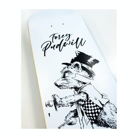 """Thank You Pudwill Tipsy Bear 8.0"""" Skateboard Deck"""
