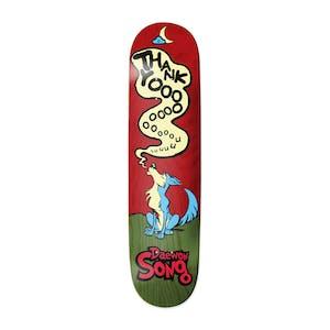 "Thank You Daewon Howlin' 8.0"" Skateboard Deck"
