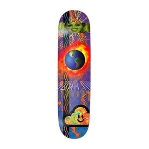 """Thank You Pudwill Blue Planet 8.25"""" Skateboard Deck"""
