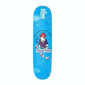 """Thank You Pudwill Party Animal 8.125"""" Skateboard Deck"""