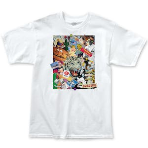 Thank You Scrapbook T-Shirt - White
