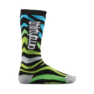 ThirtyTwo Metrix Women's Snowboard Sock — Black