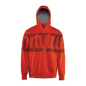 ThirtyTwo Stamped Men's Zip Hoodie — Red