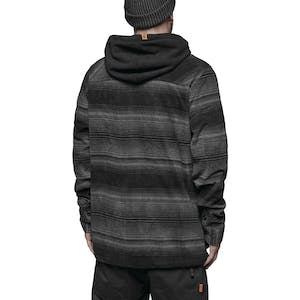 ThirtyTwo Filter Polar Fleece Zip Hoodie - Carbon