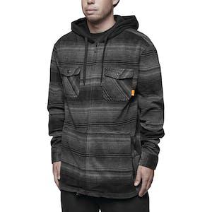 ThirtyTwo Filter Polar Fleece Zip Hoodie - Carbon