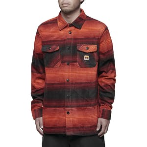 ThirtyTwo Rest Stop Polar Fleece Shirt - Oxblood