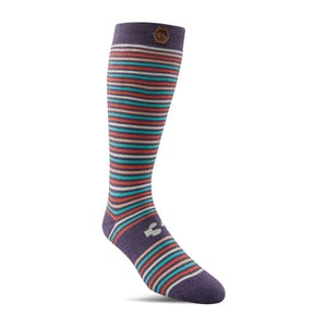 ThirtyTwo Stripe Women's Snowboard Sock - Purple