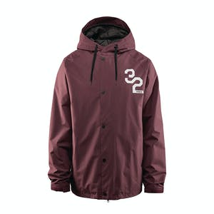 ThirtyTwo Grasser Snowboard Jacket 2019 - Burgundy