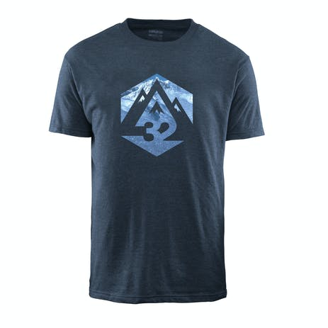 ThirtyTwo Ridelite Graphic T-Shirt - Blue/Heather