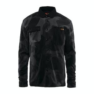 ThirtyTwo Rest Stop Polar Fleece Shirt 2019 - Black Camo