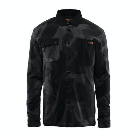 ThirtyTwo Rest Stop Polar Fleece Shirt 2019 - Black Camo