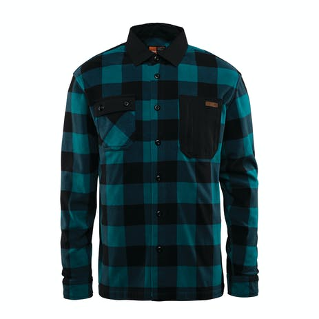 ThirtyTwo Rest Stop Polar Fleece Shirt 2019 - Indigo
