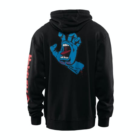 ThirtyTwo x Santa Cruz Stamped DWR Hoodie 2019 - Black