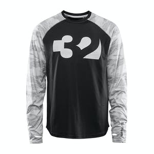 ThirtyTwo Ridelite Base Layer Longsleeve 2020 - White/Camo