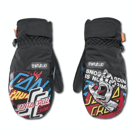 ThirtyTwo Screaming Snowboard Mitt 2020 - Black