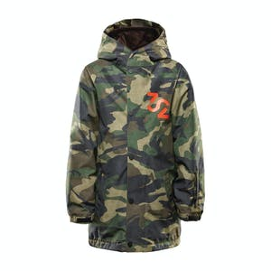 ThirtyTwo League Snowboard Youth Jacket 2020 - Camo