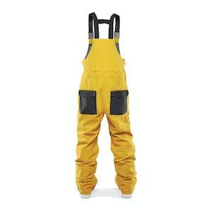 ThirtyTwo Basement Snowboard Bib 2021 - Black / Gold