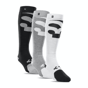 ThirtyTwo Cut Out Snowboard Sock  - 3 Pack