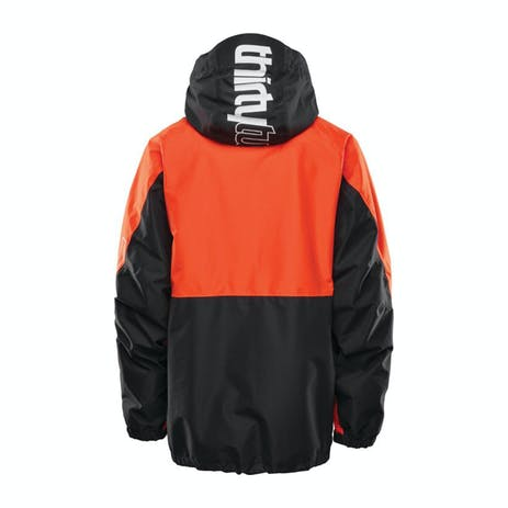 ThirtyTwo TM Snowboard Jacket 2021 - Black / Orange
