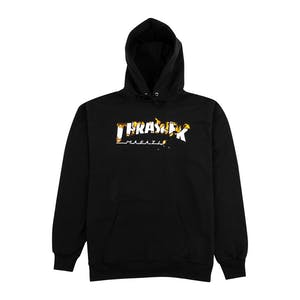 Thrasher Intro Burner Hoodie - Black