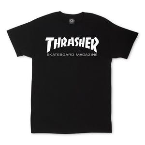 Thrasher Skate Mag T-Shirt — Black