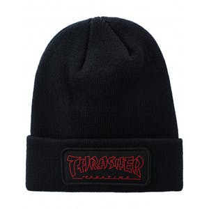 Thrasher China Banks Patch Beanie - Black