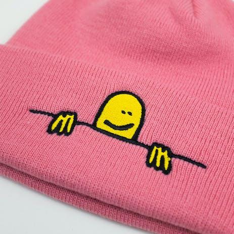 Thrasher Gonz Logo Beanie - Pink
