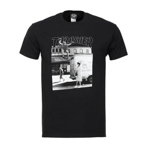 Thrasher Hackett T-Shirt - Black