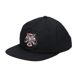 Thrasher x Independent Pentagram Cross Snapback Hat - Black