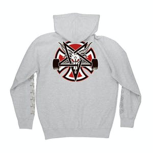 Independent x Thrasher Pentagram Cross Hoodie - Grey