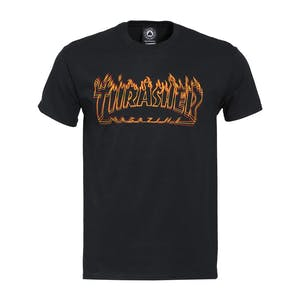 Thrasher Richter Logo T-Shirt - Black