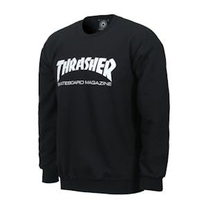 Thrasher Skate Mag Crewneck - Black