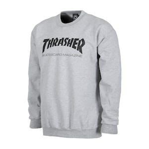 Thrasher Skate Mag Crewneck - Grey