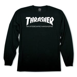 Thrasher Skate Mag Long Sleeve T-Shirt - Black
