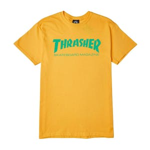 Thrasher Skate Mag T-Shirt - Gold