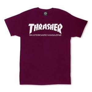 Thrasher Skate Mag T-Shirt — Maroon