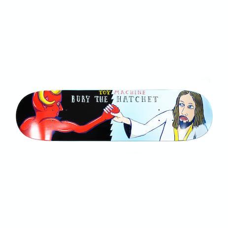 """Toy Machine Bury the Hatchet 8.0"""" Skateboard Deck"""