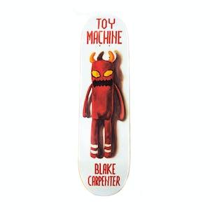 """Toy Machine Doll 8.38"""" Skateboard Deck - Carpenter"""