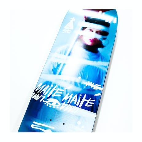"""Uma Taped Up 8.6"""" Shaped Skateboard Deck - Maite"""