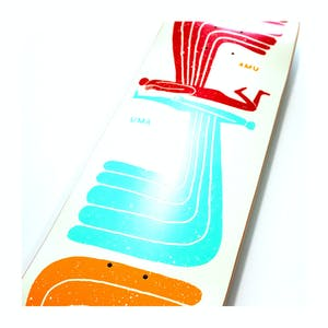 "Uma WingWing 8.5"" Skateboard Deck"