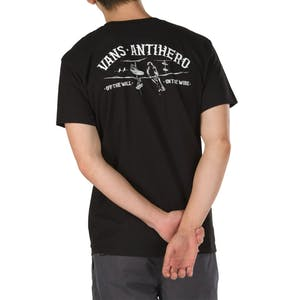 Vans x Antihero On the Wire T-Shirt - Black