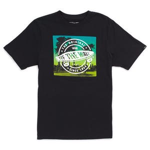 Vans Beach Blvd Youth T-Shirt - Black