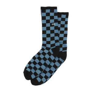 Vans Checkerboard Crew Sock - Bluestone