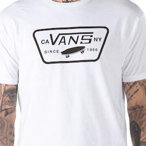 Vans Full Patch T-Shirt - White/Black